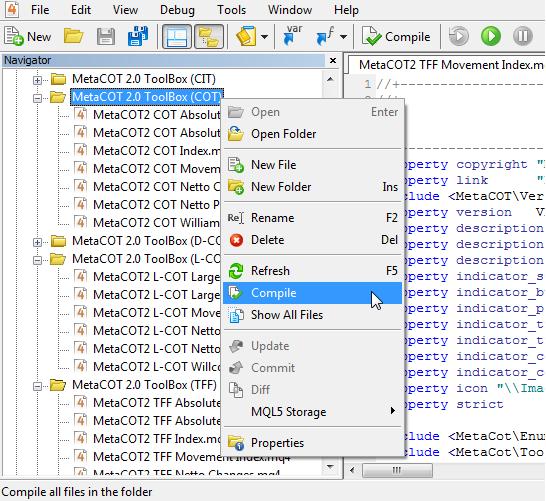 MetaCOT 2 CFTC ToolBox (Set of Indicators) MT4  - скачать индикатор для MetaTrader 4 бесплатно
