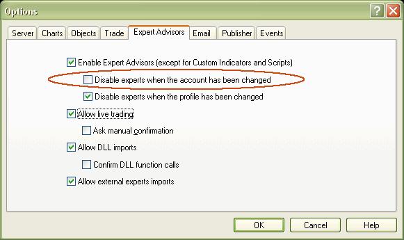 EXP_Relogin  - скачать советник (эксперт) для MetaTrader 4 бесплатно