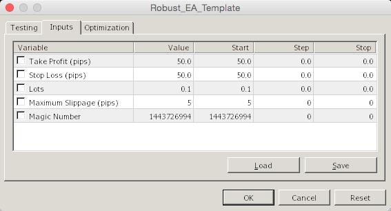 Robust EA Template  - скачать советник (эксперт) для MetaTrader 4 бесплатно