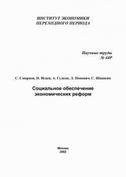 Социальное обеспечение экономических реформ (С. В. Шишкин)