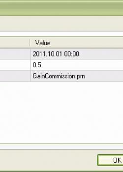 OptimalCommission - скрипт для МТ4, скачать бесплатно