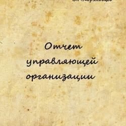 Отчет управляющей организации (Василий Коряковцев)