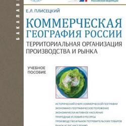 Коммерческая география России. Территориальная организация производства и рынка (Евгений Леонидович Плисецкий)