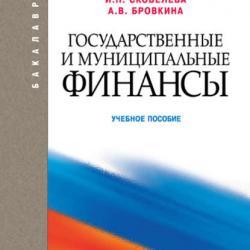 Государственные и муниципальные финансы (Александра Бровкина)