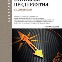 Инвестиционная стратегия предприятия (Н. И. Лахметкина)