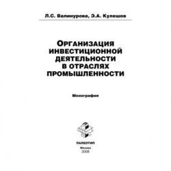 Организация инвестиционной деятельности в отраслях промышленности (Лилия Валинурова)