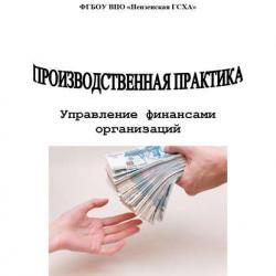 Производственная практика. Управление финансами организаций (Н. Ф. Зарук)