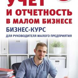 Учет и отчетность в малом бизнесе. Бизнес-курс для руководителя малого предприятия (Тамара Беликова)