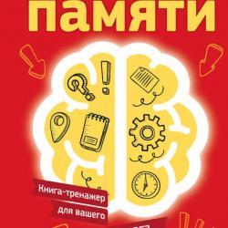 Супертренажер памяти. Книга-тренажер для вашего мозга (Антон Могучий)