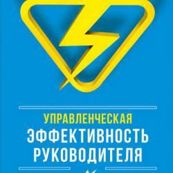 Управленческая эффективность руководителя (Мария Чуркина)