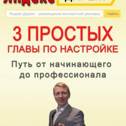Яндекс.Директ. 3 простых главы по настройке. Путь от начинающего до профессионала (Александр Валериевич Марков)