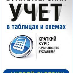 Бухгалтерский учет в таблицах и схемах (Андрей Гартвич)