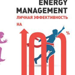 Energy management. Личная эффективность на 100% (Александр Зайцев)