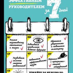 Стань эффективным руководителем за 7 дней (Кристина Харви) - скачать книгу