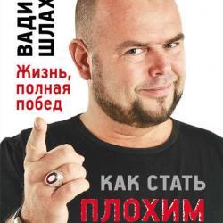 Как стать плохим парнем (Вадим Шлахтер)