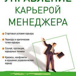 Управление карьерой менеджера (Е. Г. Молл)
