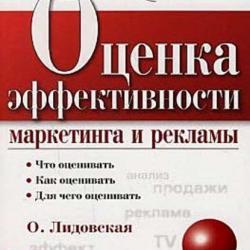 Оценка эффективности маркетинга и рекламы (О. П. Лидовская)