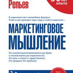 Аудиокнига Маркетинговое мышление (Александр Репьев)