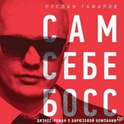 Аудиокнига Сам себе босс. Бизнес-роман о бирюзовой компании (Руслан Гафаров)