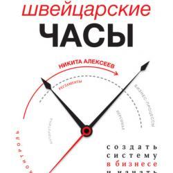 Как швейцарские часы: создать систему в бизнесе и начать наслаждаться порядком (Никита Алексеев)