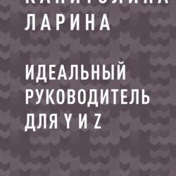 Идеальный руководитель для Y и Z (Капитолина Сергеевна Ларина)