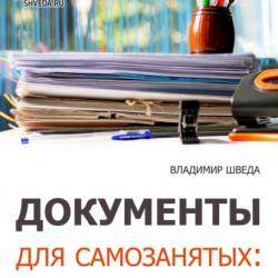 Документы для самозанятых: договоры, акты, инструкция (Владимир Шведа)