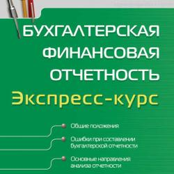 Бухгалтерская финансовая отчетность. Экспресс-курс (И. Н. Томшинская)