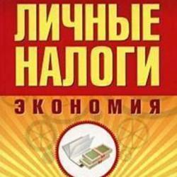 Личные налоги: экономия. Всё о минимизации и возврате (Н. Ю. Смирнова)