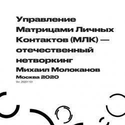Управление Матрицами Личных Контактов (МЛК) – отечественный нетворкинг (Михаил Молоканов)