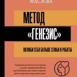 Метод «Генезис»: полюби себя больше семьи и работы (Ирина Маслова)