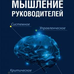 Мышление руководителей: системное, управленческое, критическое, аффективное (Михаил Молоканов)