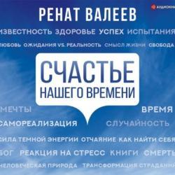 Аудиокнига Счастье нашего времени (Ренат Валеев)