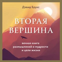Аудиокнига Вторая вершина. Величайшая книга размышлений о мудрости и цели жизни (Дэвид Брукс)
