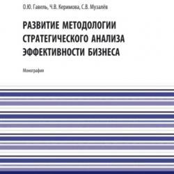 Развитие методологии стратегического анализа эффективности бизнеса. (Аспирантура, Бакалавриат, Магистратура). Монография. - скачать книгу