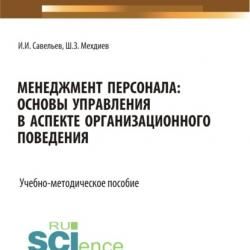Менеджмент персонала: основы управления в аспекте организационного поведения. (Бакалавриат). Учебно-методическое пособие - скачать книгу