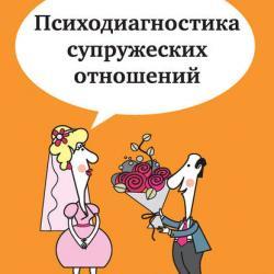 Психодиагностика супружеских отношений (Елена Туник)