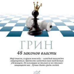 Аудиокнига 48 законов власти. Законы 33-48 (Роберт Грин)