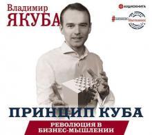 Аудиокнига Принцип куба. Революция в бизнес-мышлении (Владимир Якуба)