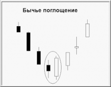 модель поглощения бычья
